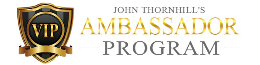 John Thornhills Ambassador Program